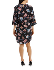 Jump - Ruffle Sleeve Floral Dress