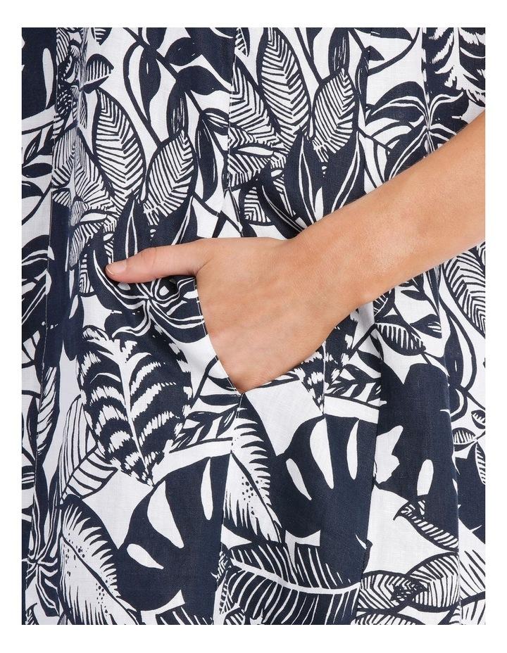 S/Less Tropical Printed Dress image 3