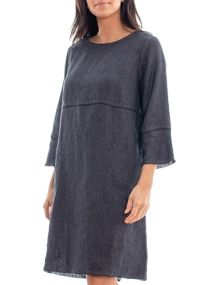 Long Sleeve Linen Dress image 2
