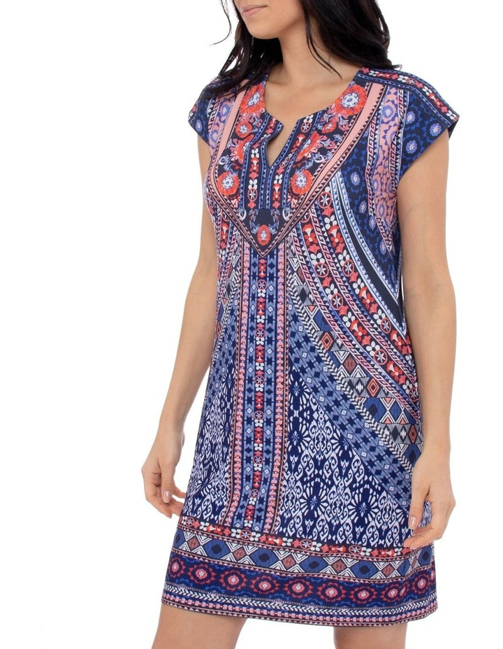 Mosaic Print Jersey Dress image 2