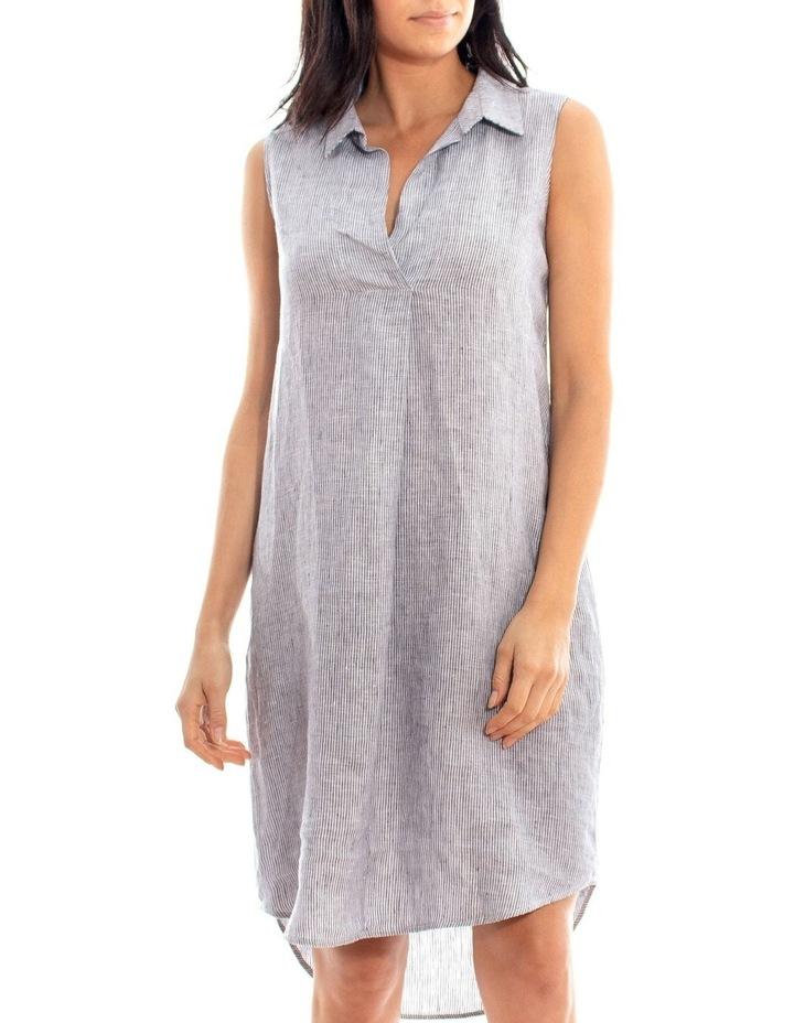 Sleeveless Shirt Dress image 1