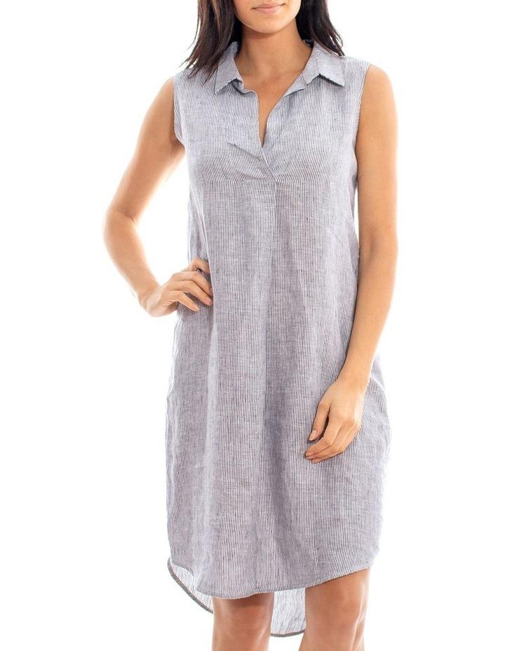 Sleeveless Shirt Dress image 2