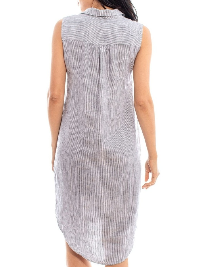 Sleeveless Shirt Dress image 3