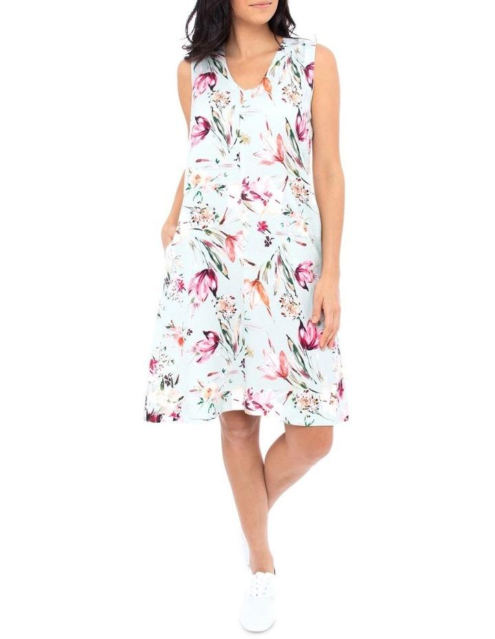 Tie Back Floral Dress image 1