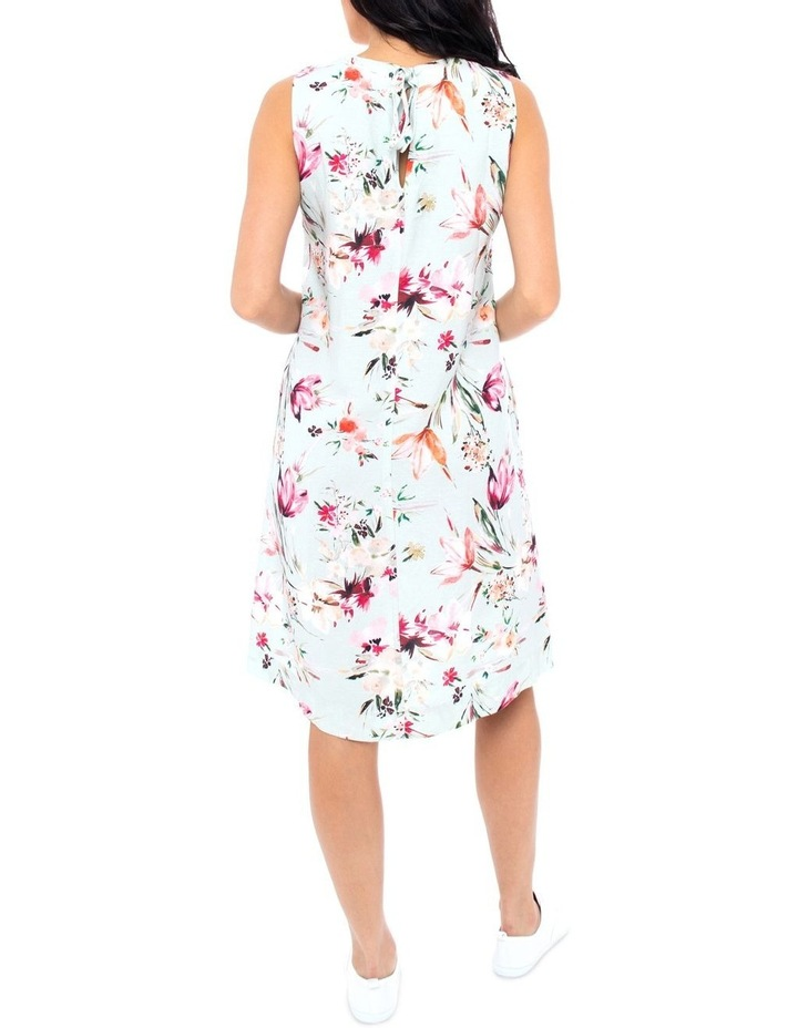 Tie Back Floral Dress image 2