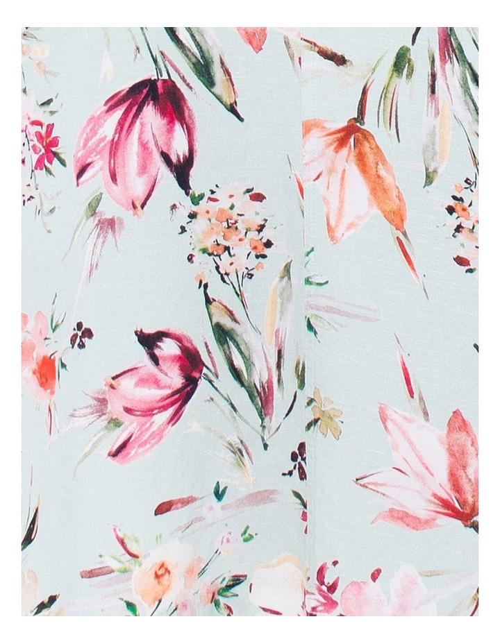 Tie Back Floral Dress image 3