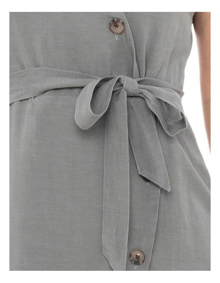 Sleeve Less Button Detail Dress image 3
