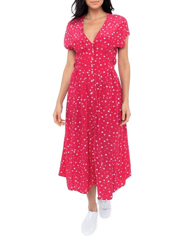 Etched Spot Maxi Dress image 1