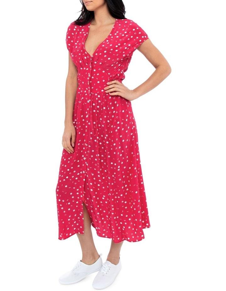 Etched Spot Maxi Dress image 2