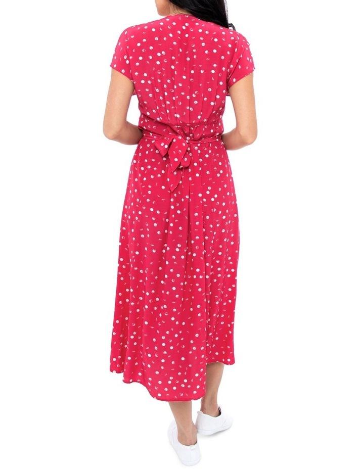 Etched Spot Maxi Dress image 3
