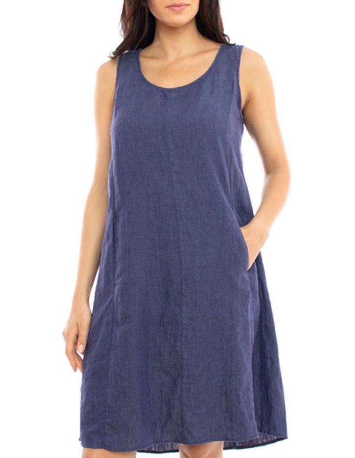 S/Less Pleat Back Dress image 1