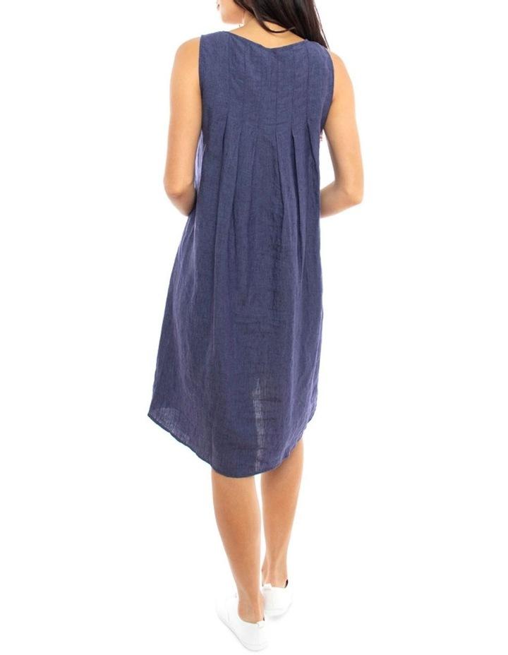 S/Less Pleat Back Dress image 3