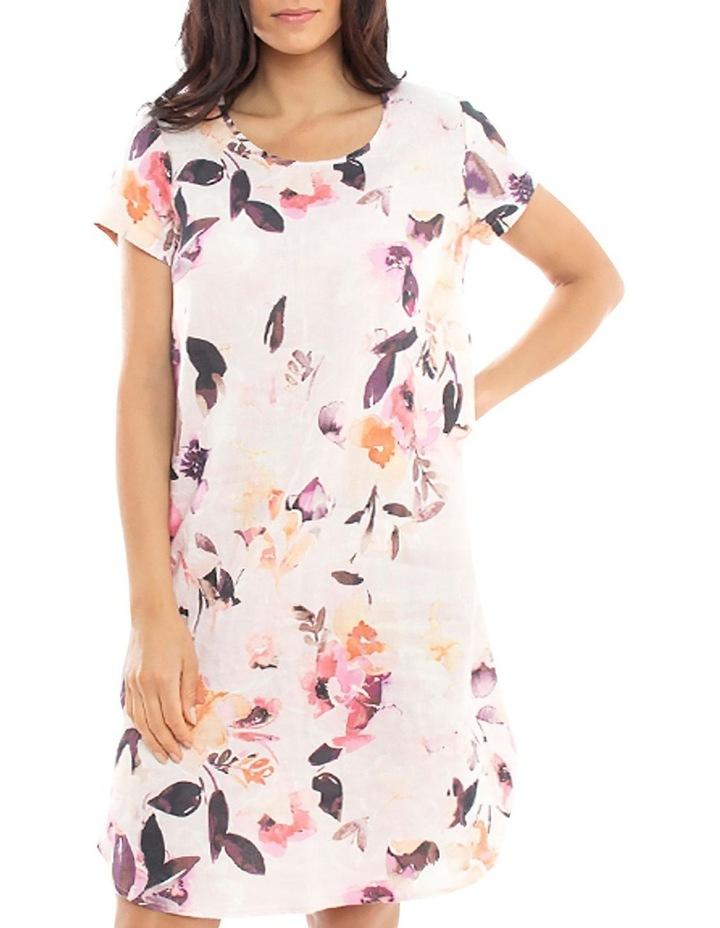Watercolour Linen Dress image 1