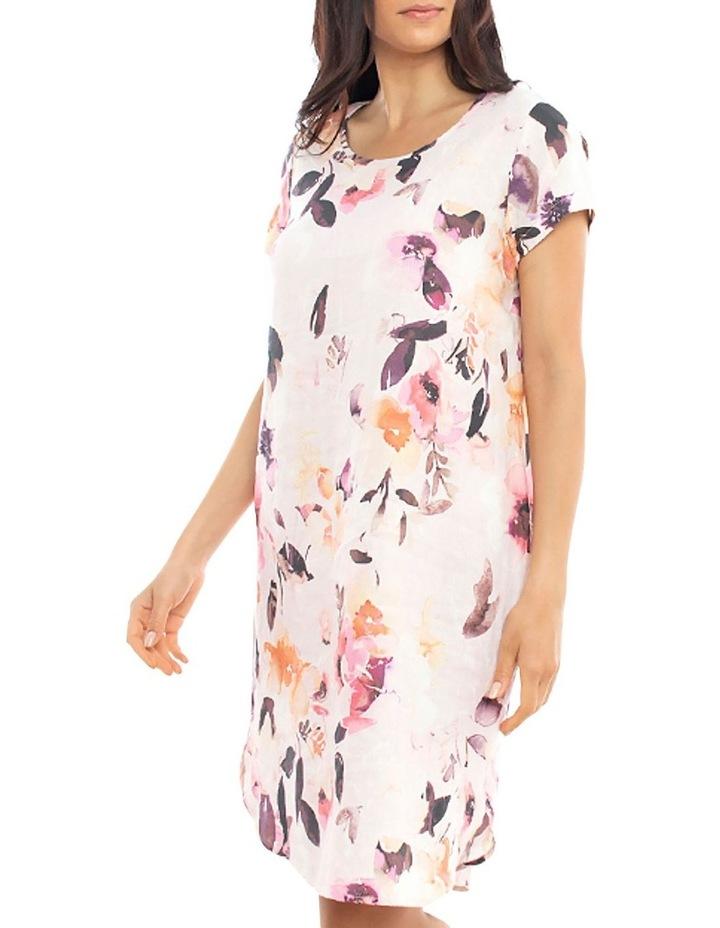 Watercolour Linen Dress image 2