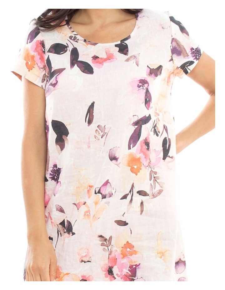 Watercolour Linen Dress image 3