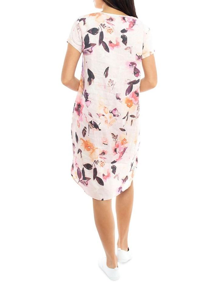 Watercolour Linen Dress image 4