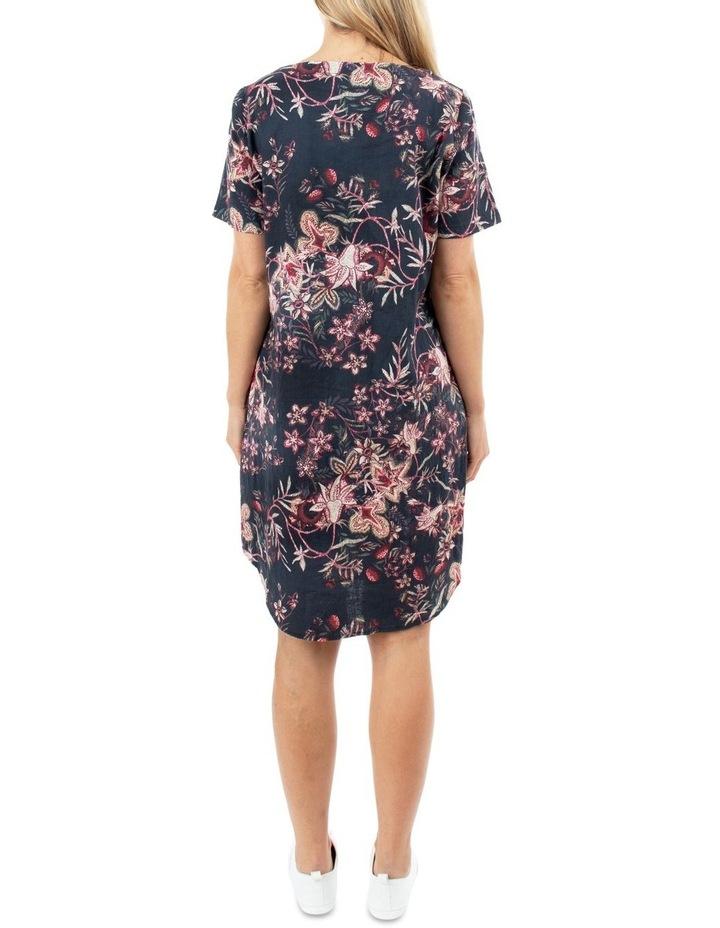 Short Sleeve Tapestry Dress image 3