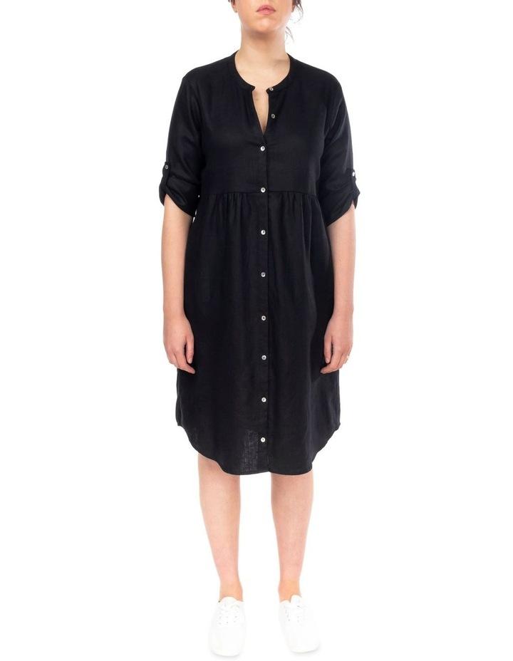 Tab Slv Button Thru Dress image 1