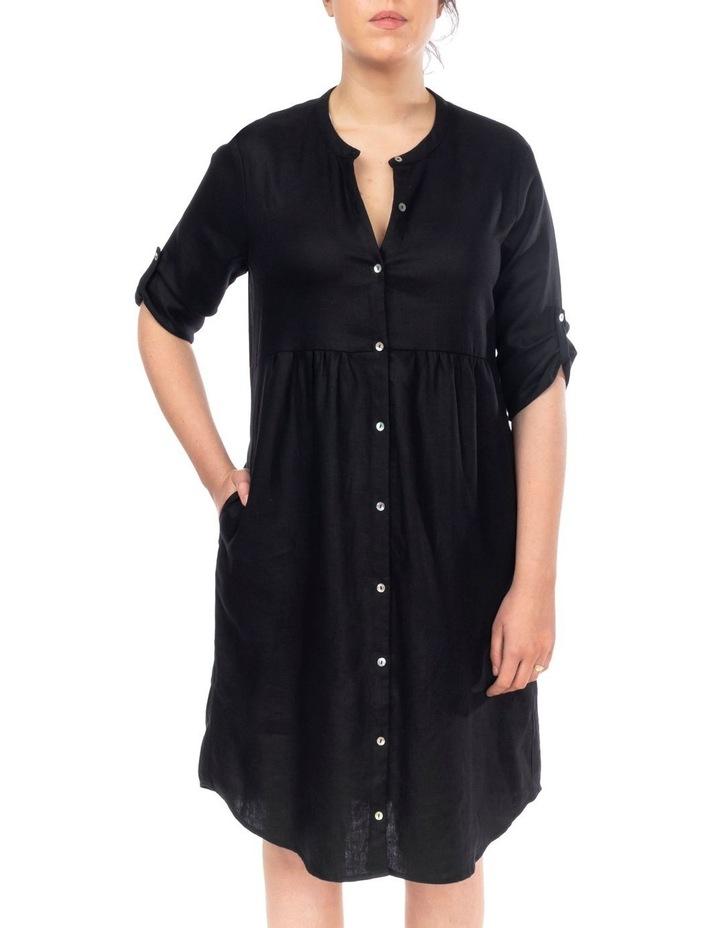 Tab Slv Button Thru Dress image 2