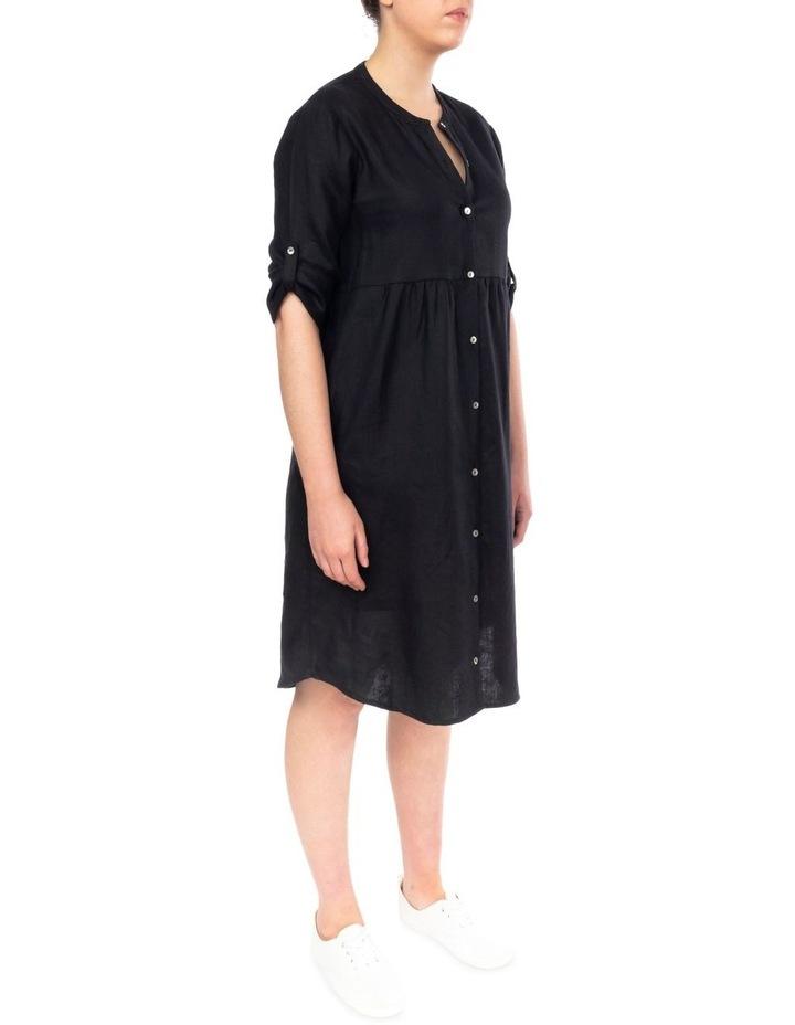 Tab Slv Button Thru Dress image 3