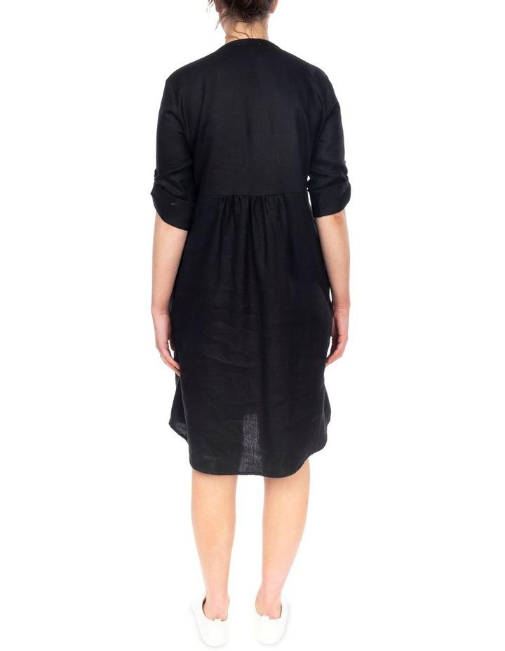 Tab Slv Button Thru Dress image 4