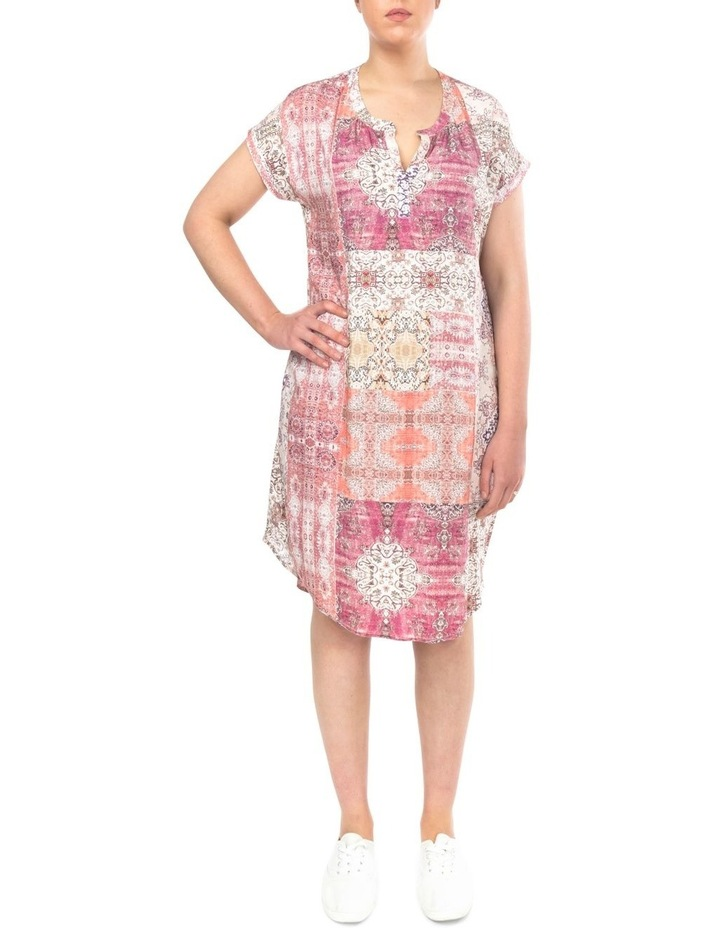 Mosaic Print Dress image 1