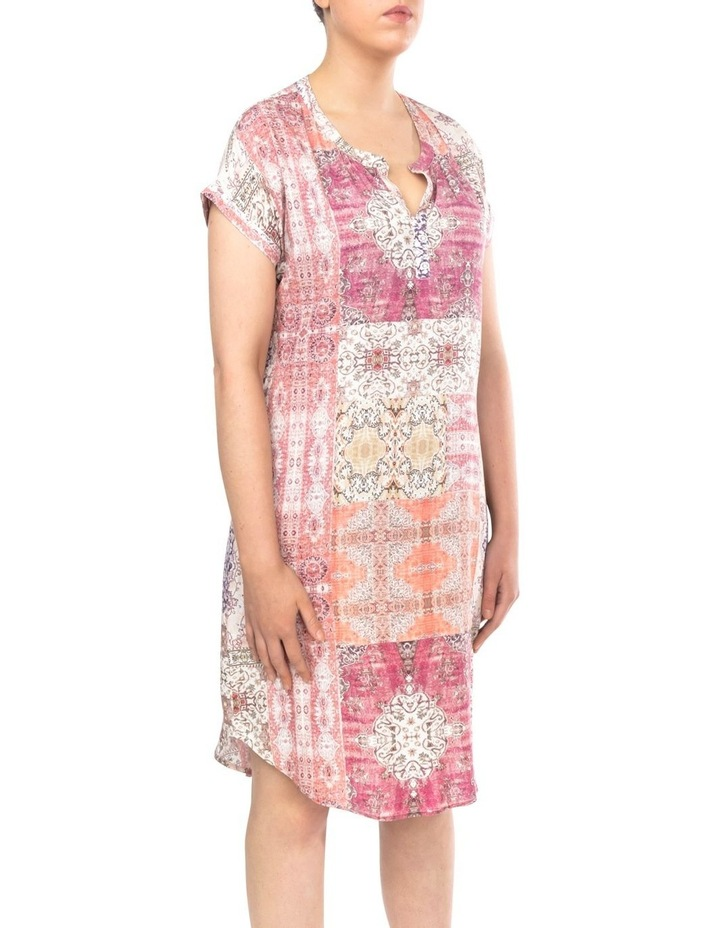 Mosaic Print Dress image 3