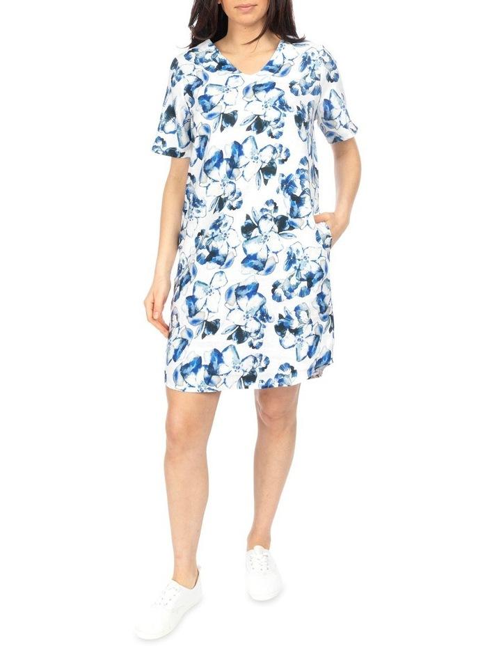 Water Color Floral Dress image 1