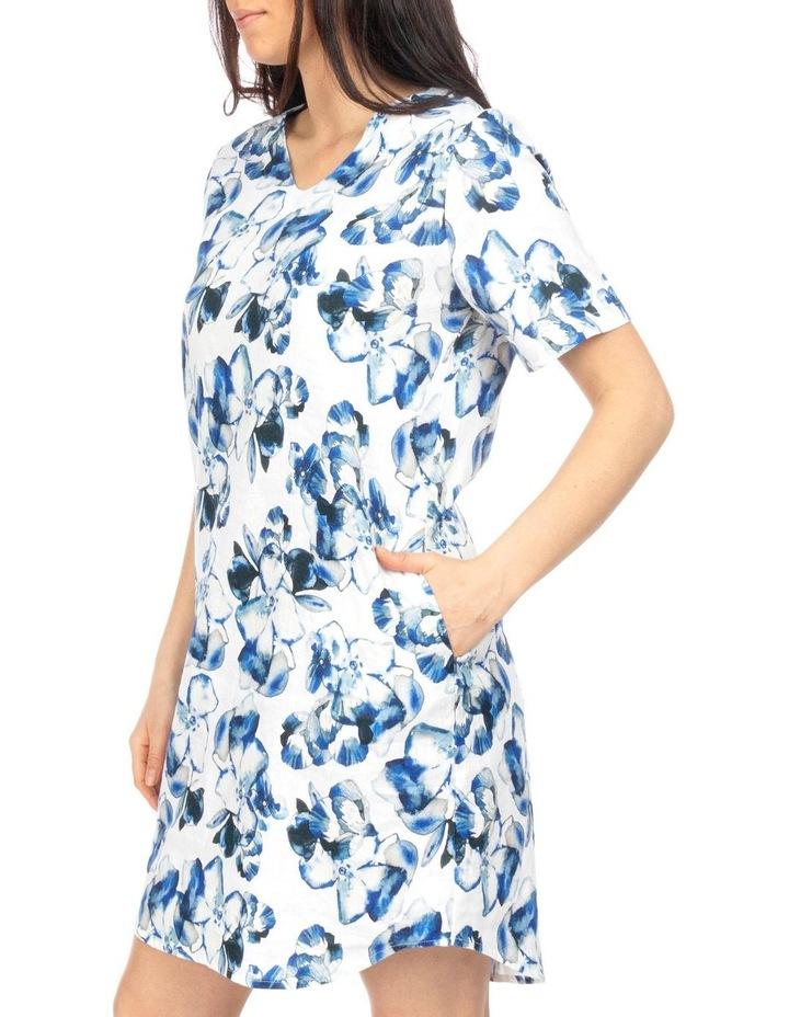 Water Color Floral Dress image 3