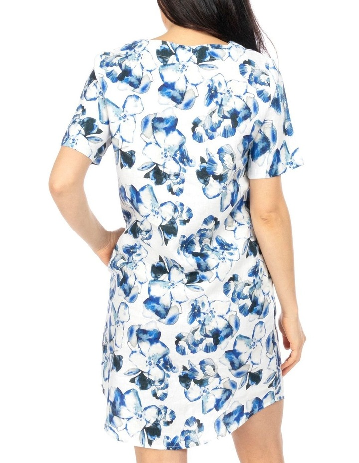 Water Color Floral Dress image 4