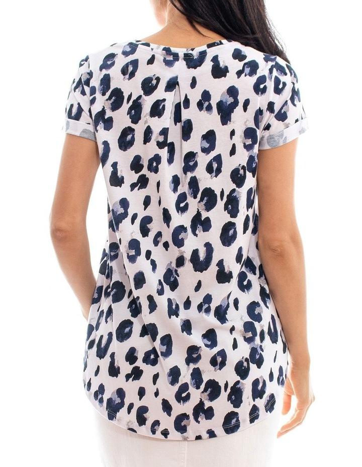 Short Sleeve Bold Animal Printed Tee image 3