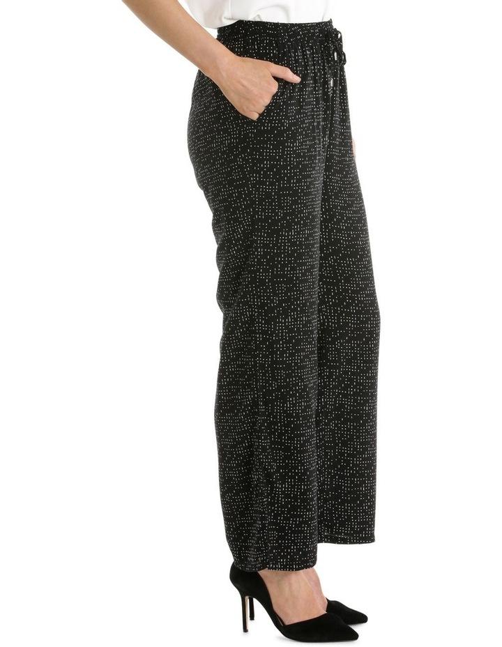 Printed Wide Leg Pant image 2