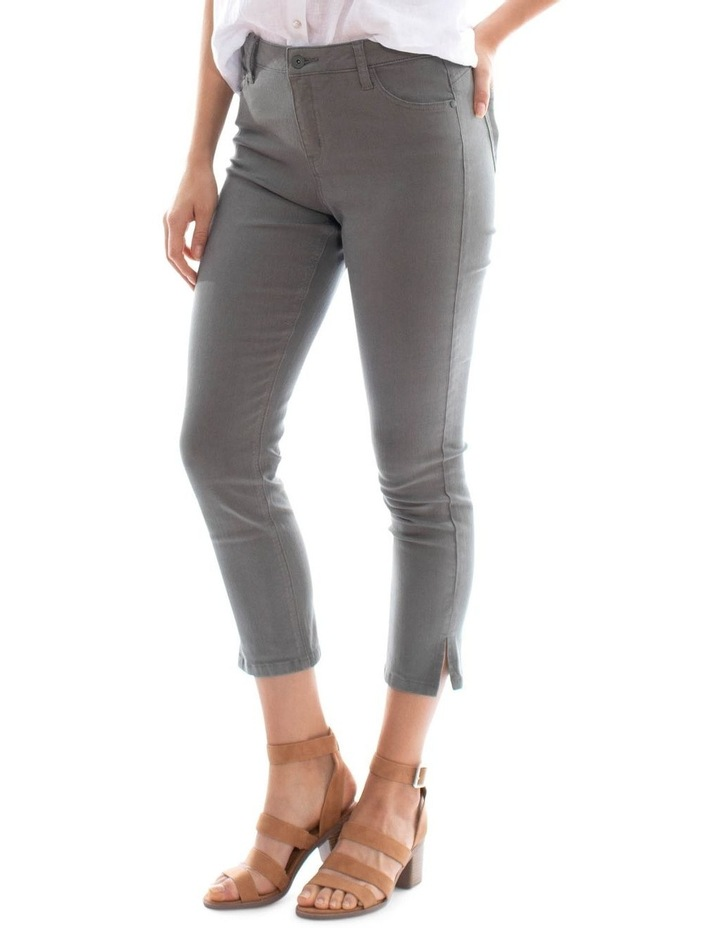 7/8 Khaki Jean image 2