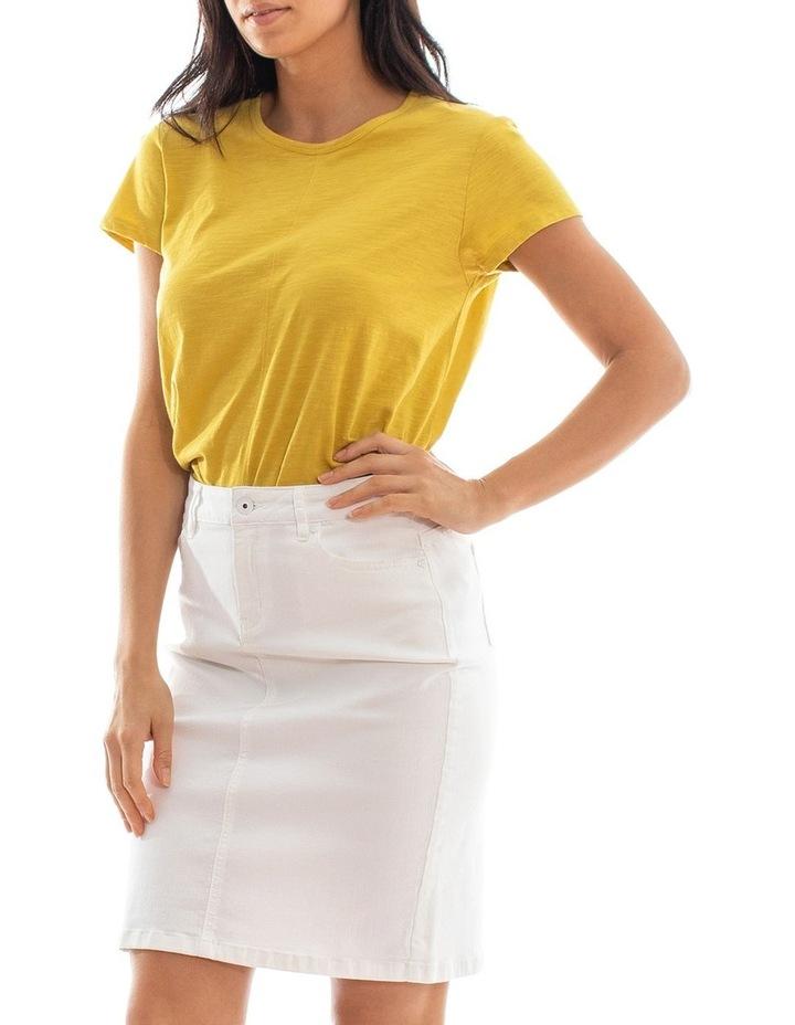 Classic Denim Skirt image 2