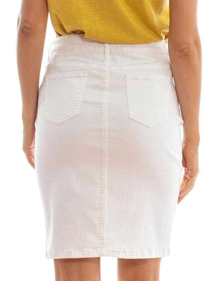 Classic Denim Skirt image 3