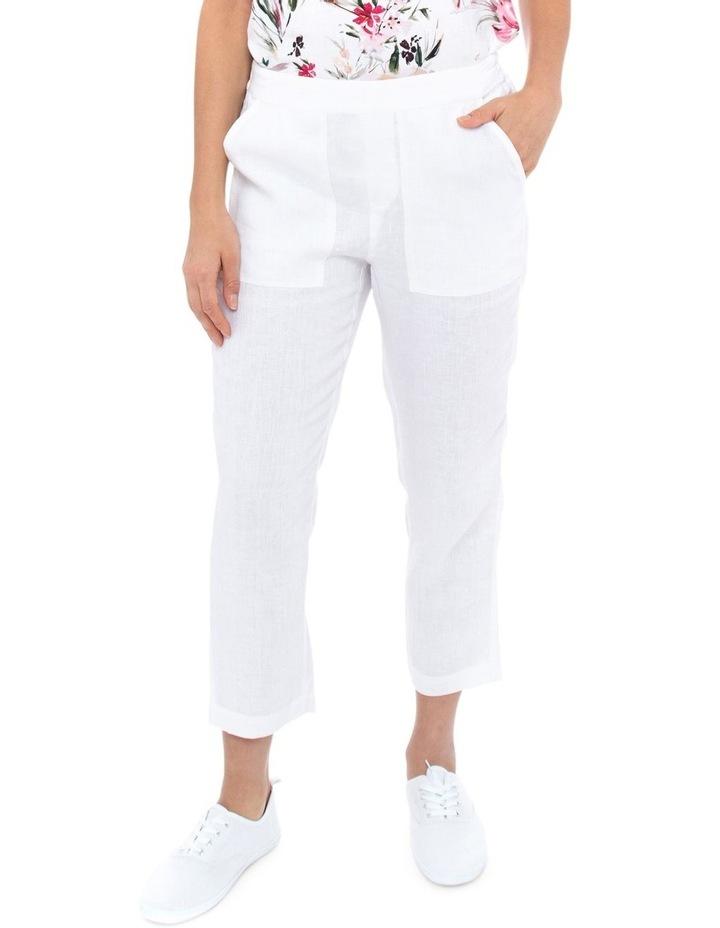 7/8 Classic Linen Pant image 1