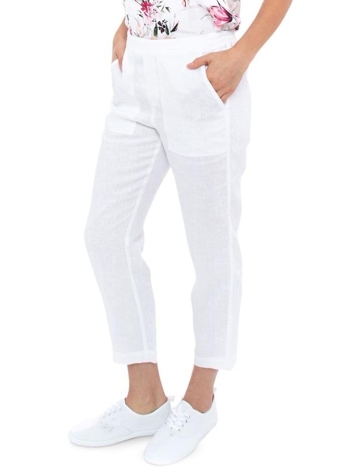 7/8 Classic Linen Pant image 2