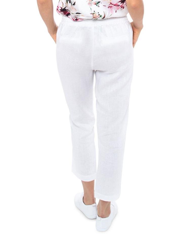 7/8 Classic Linen Pant image 4