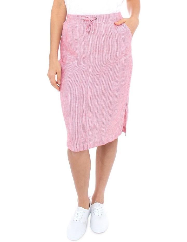 Stripe Linen Skirt image 1