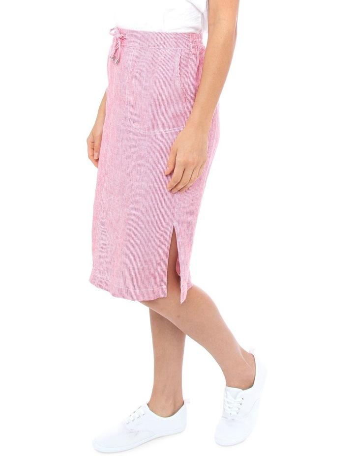 Stripe Linen Skirt image 2