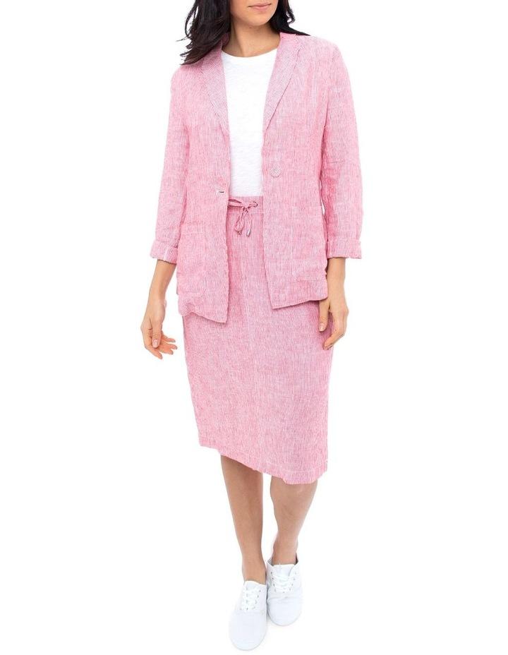 Stripe Linen Skirt image 3