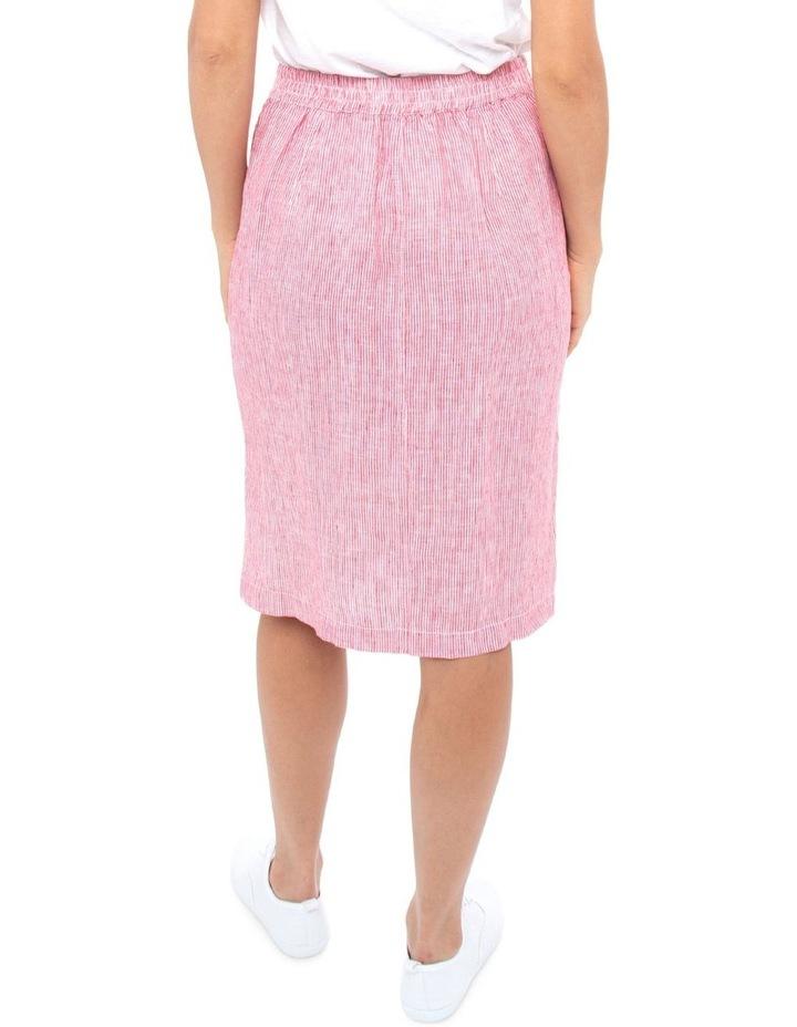 Stripe Linen Skirt image 4