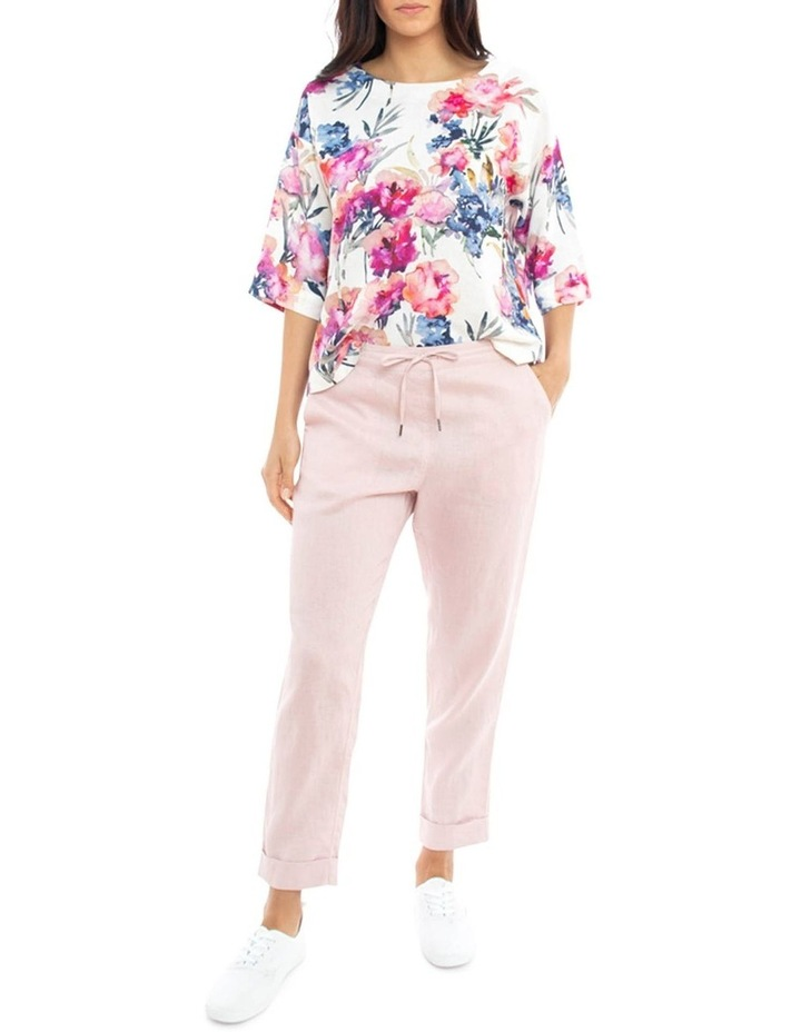 Cuff Linen Pant image 1