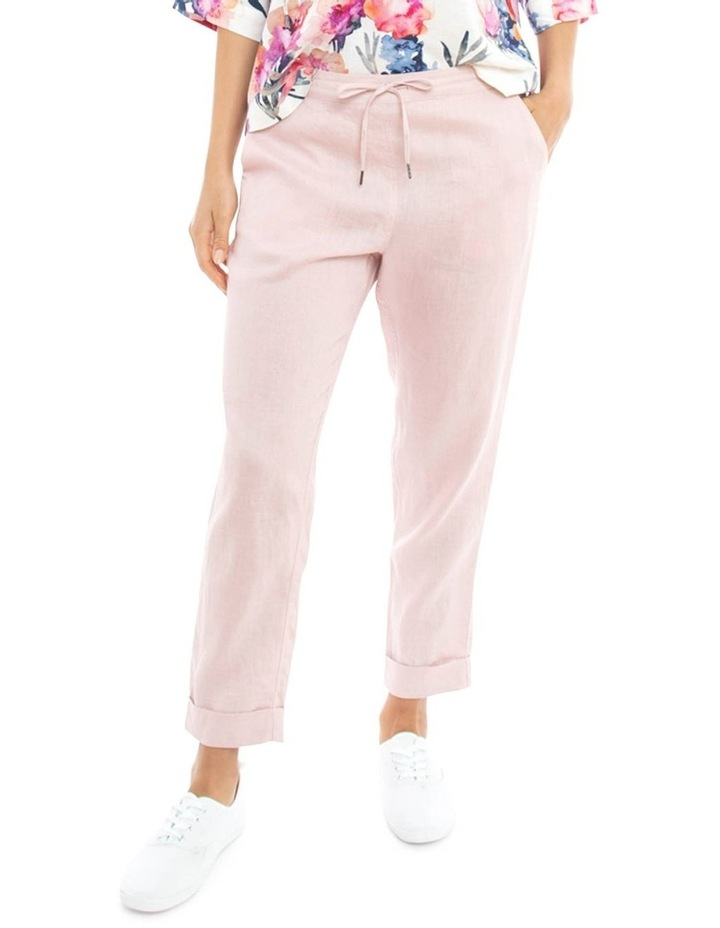 Cuff Linen Pant image 2
