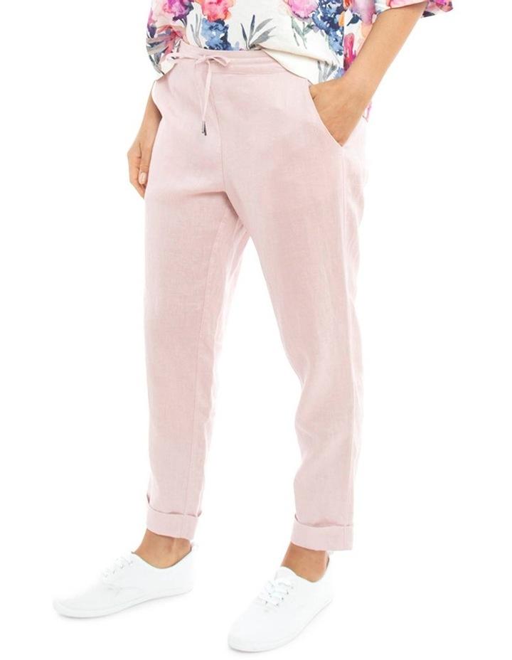 Cuff Linen Pant image 3