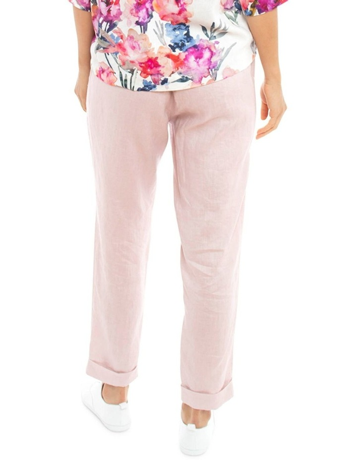 Cuff Linen Pant image 4