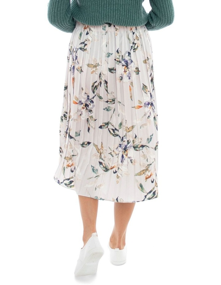 Watercolour Pleated Skirt image 4