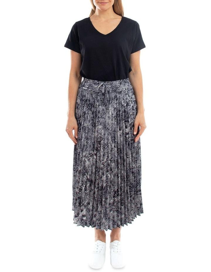 Python Pleated Skirt image 1