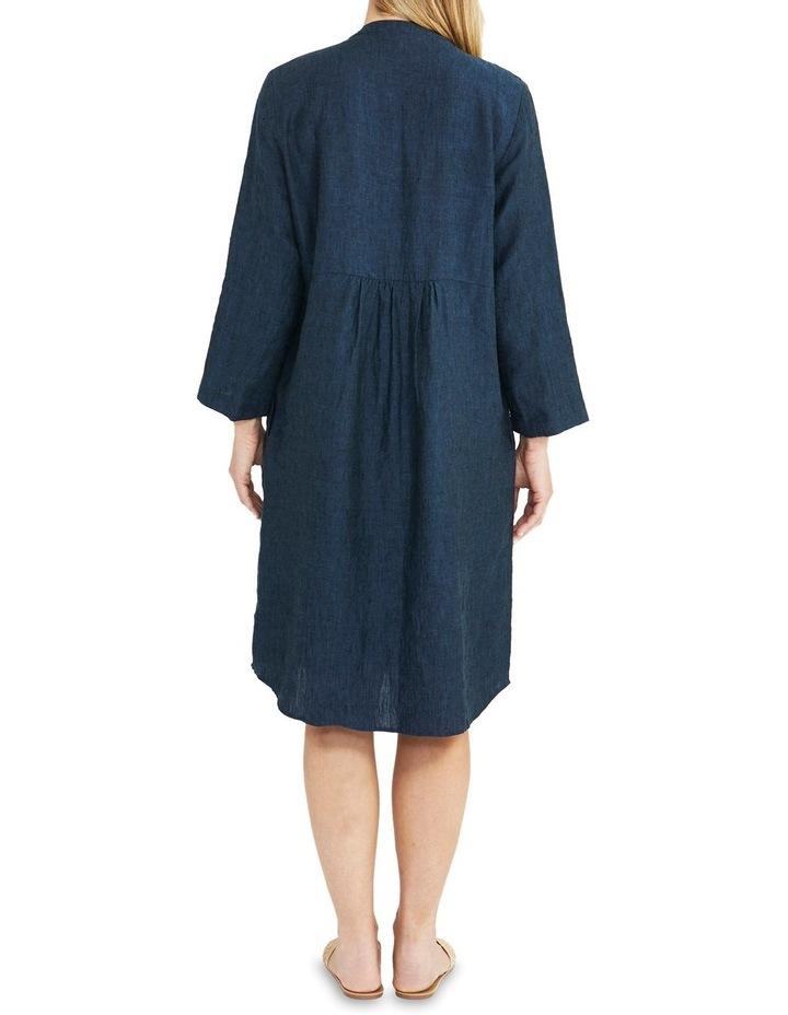 Pintuck Linen Dress image 2