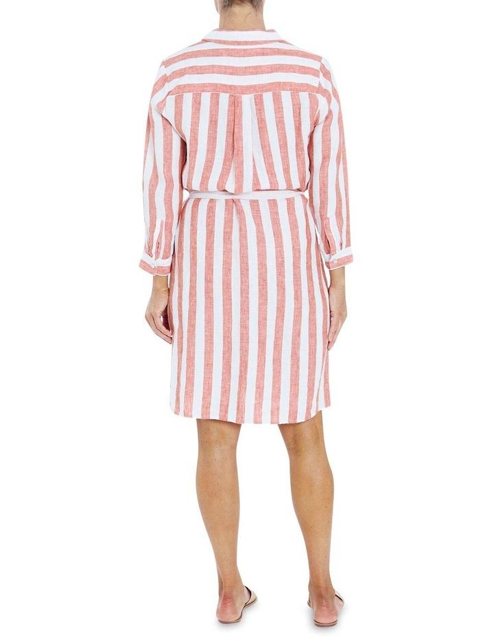 Stripe Button Through Dress image 2